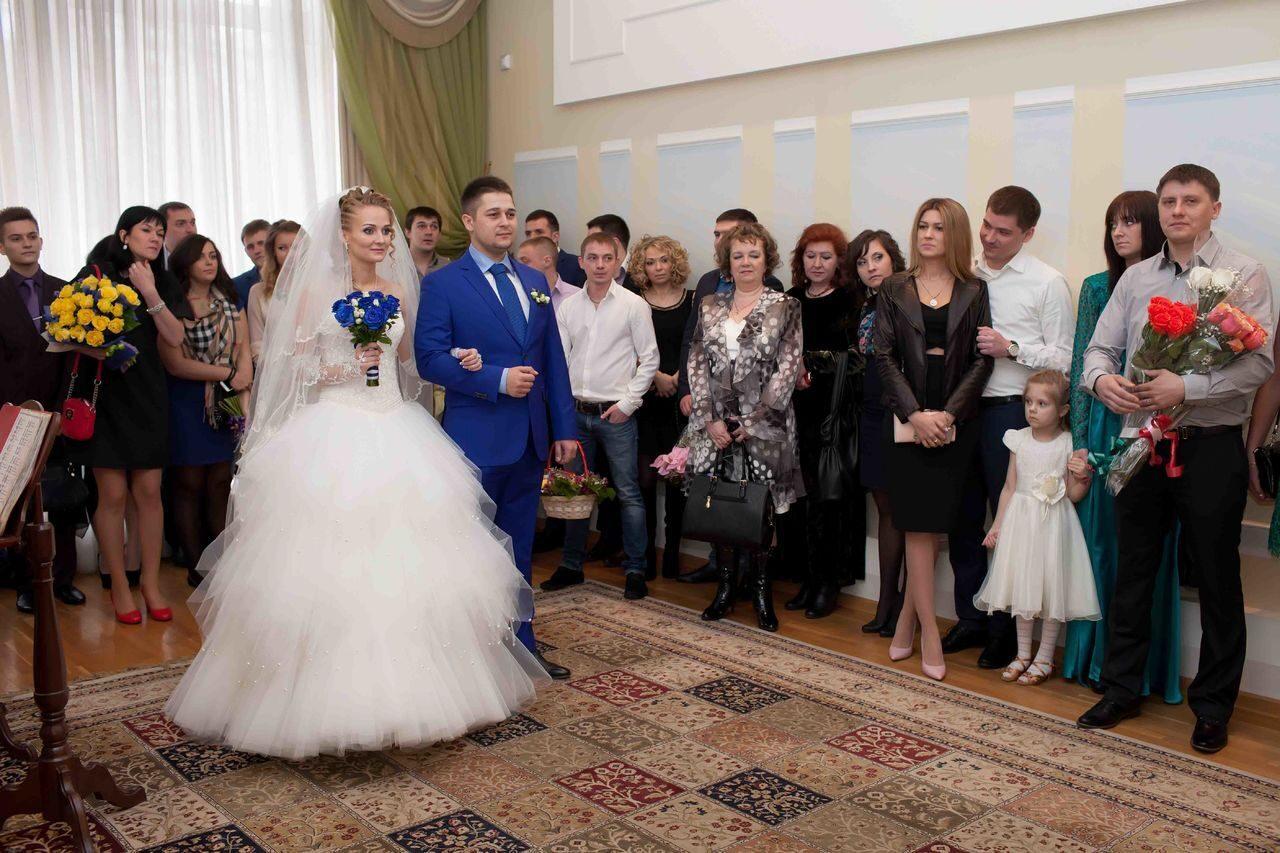 Фото с регистрации свадьбы